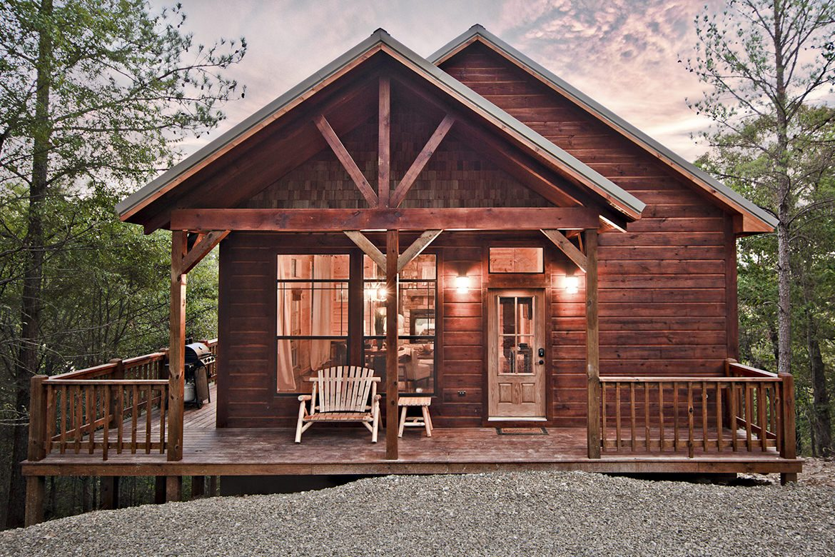 Mount Mystic Cabin in Broken Bow, OK - Studio Sleeps 2 ...