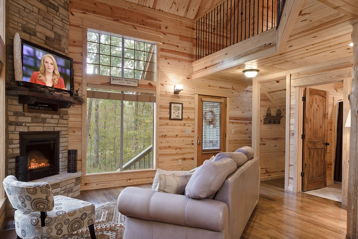 August Creek Cabin In Broken Bow Ok Sleeps 2 Hidden