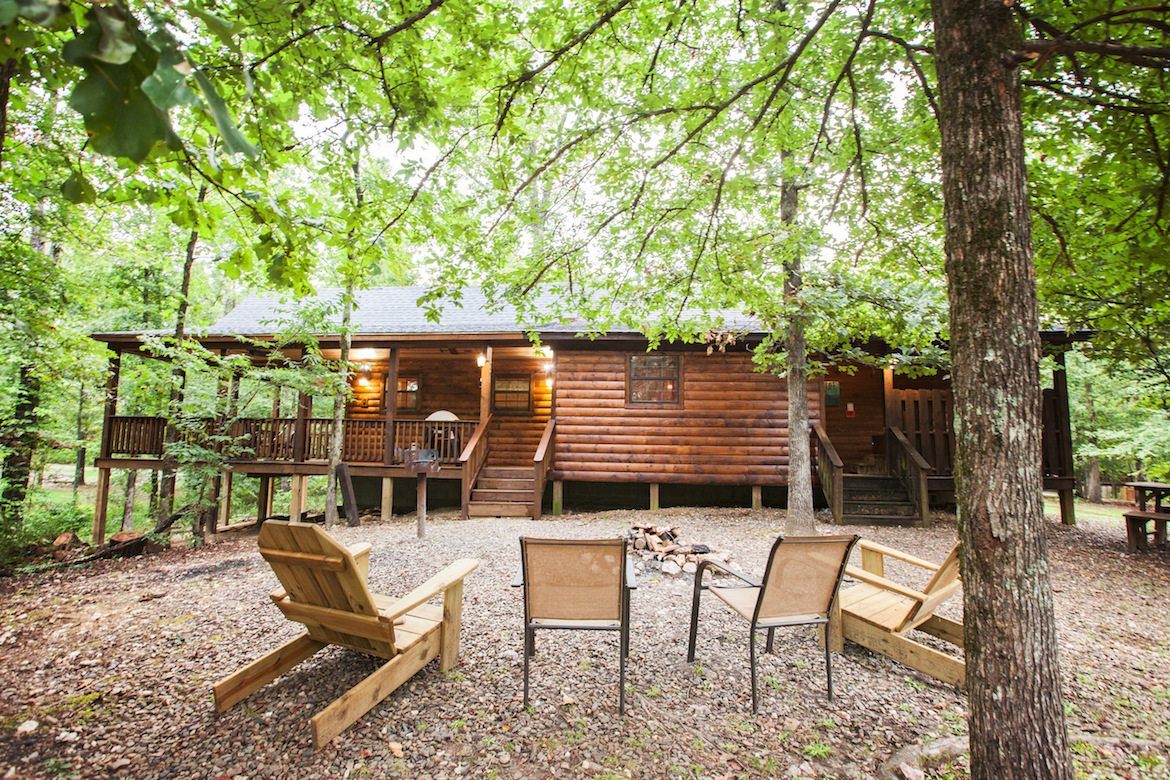 Sunset Ridge Cabin In Broken Bow Ok Sleeps 4 Hidden