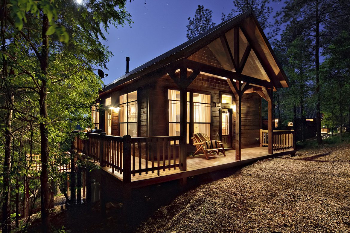 Mount Mystic Cabin In Broken Bow Ok Studio Sleeps 2