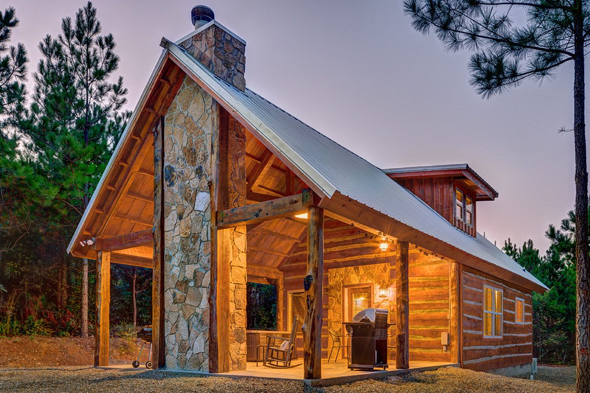 Oklahoma cabins: Settle In