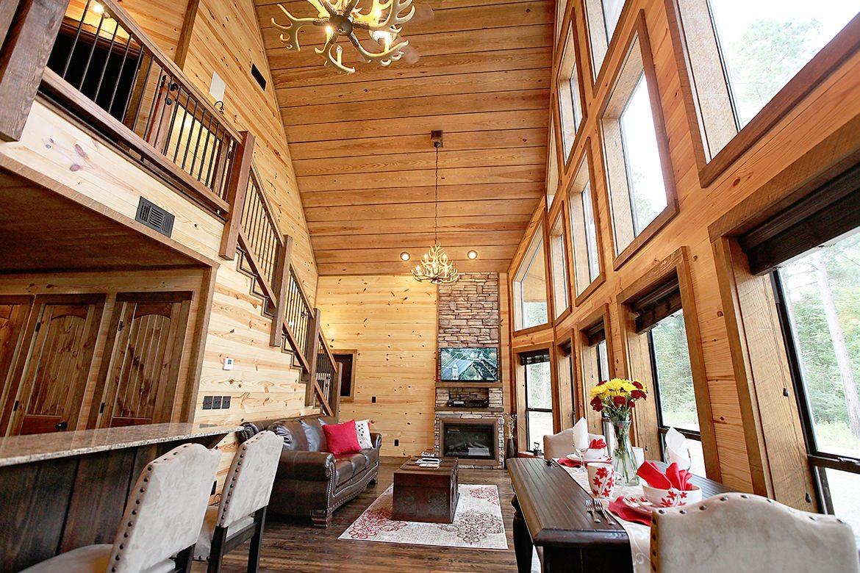 Firefly Cabin In Broken Bow Ok Sleeps 4 Hidden Hills