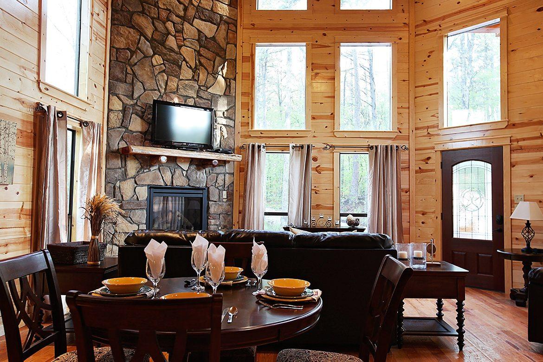 Hidden Hickory Cabin In Broken Bow Ok Sleeps 2