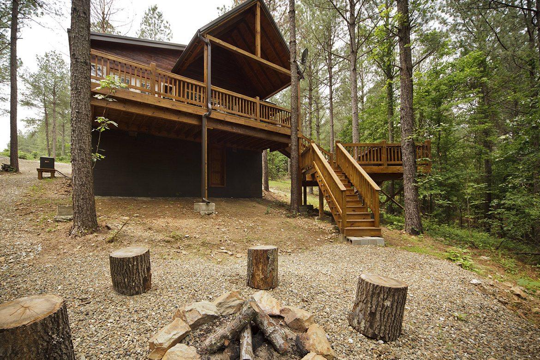 Oklahoma cabins: Hillside Delight