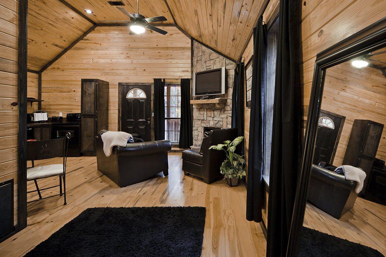 Jax S Ridge Cabin In Broken Bow Ok Studio Sleeps 2