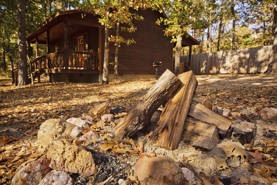 Oklahoma cabins: Moonlight Ridge