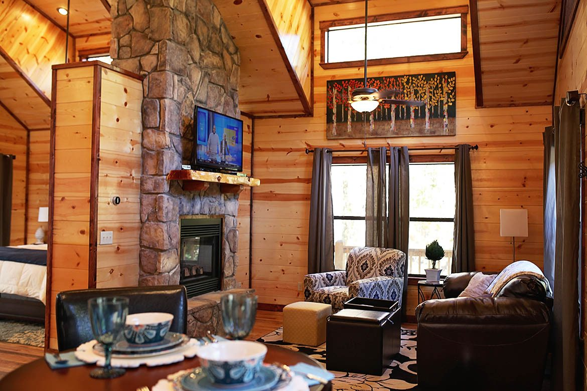 The Oasis Cabin In Broken Bow Ok Sleeps 2 Hidden