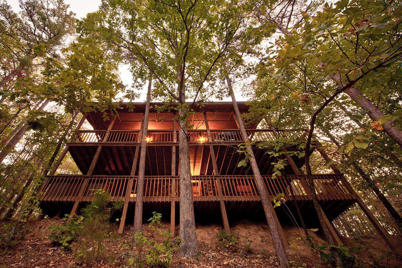 Steven S Springs Cabin In Broken Bow Ok Sleeps 11