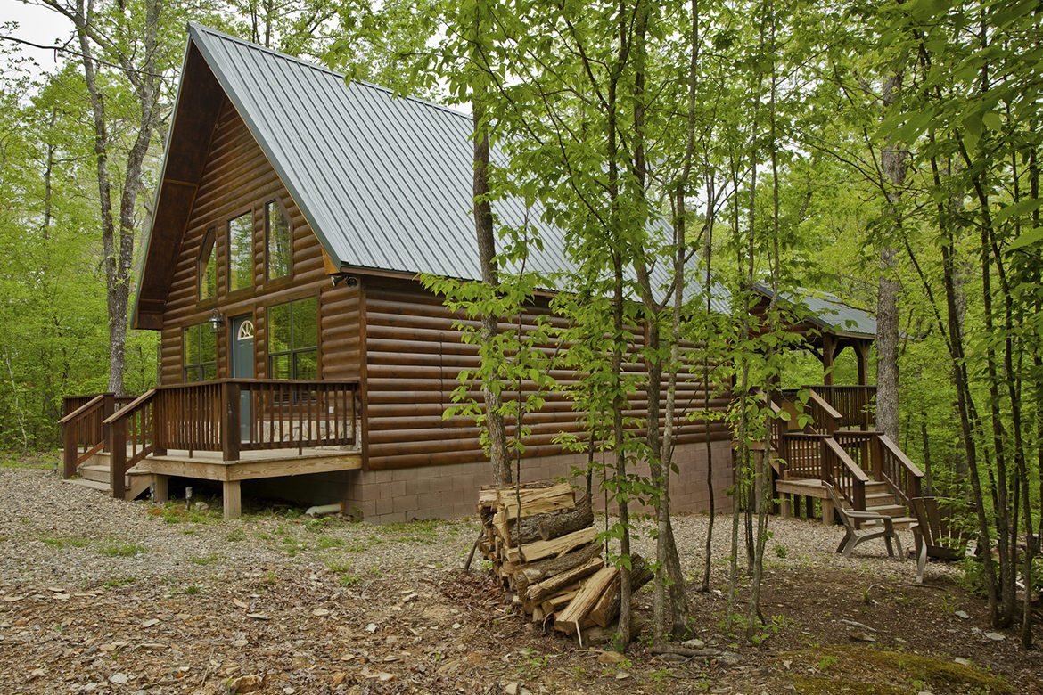 Summer Brook Cabin In Broken Bow Ok Studio Sleeps 2