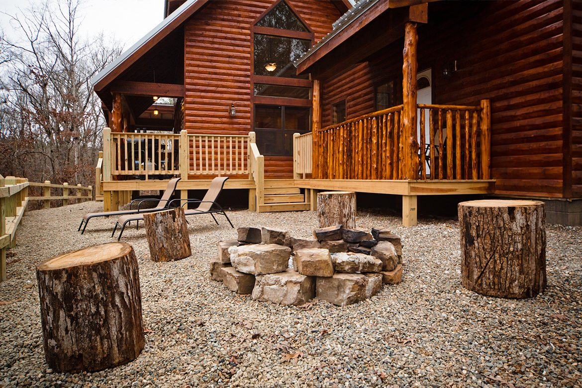 Tranquility Trails Cabin In Broken Bow Ok Sleeps 4