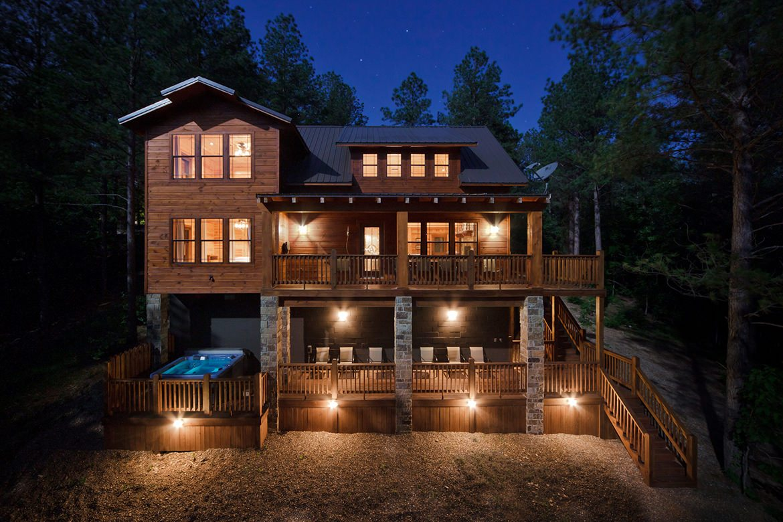 Oklahoma cabins: Tumbledown Lodge