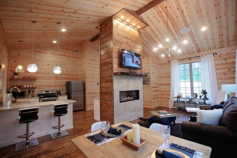 Oklahoma cabins: La Bella Cabina