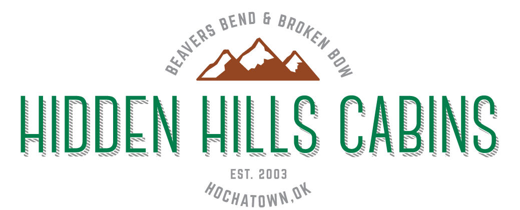 Hidden Hills Cabins in Broken Bow, Oklahoma – near Beavers Bend Resort Park, Mountain Fork River, and Broken Bow Lake