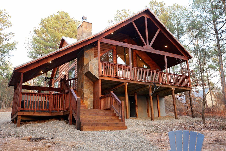 One Up Cabin In Broken Bow Ok Sleeps 2 Hidden Hills